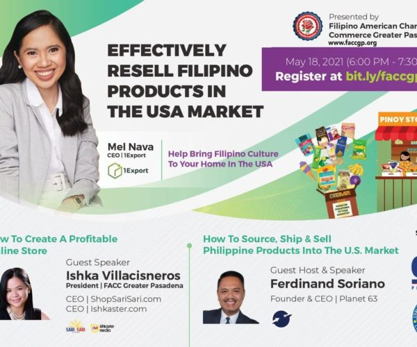 Effectively Resell Filipino Products in the USA Market